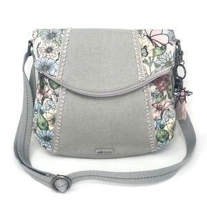 🌸Sakroots Foldover Floral Crossbody Bag In Bloom